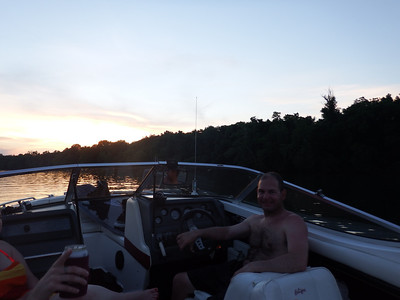 6/10 Jon and the sunset