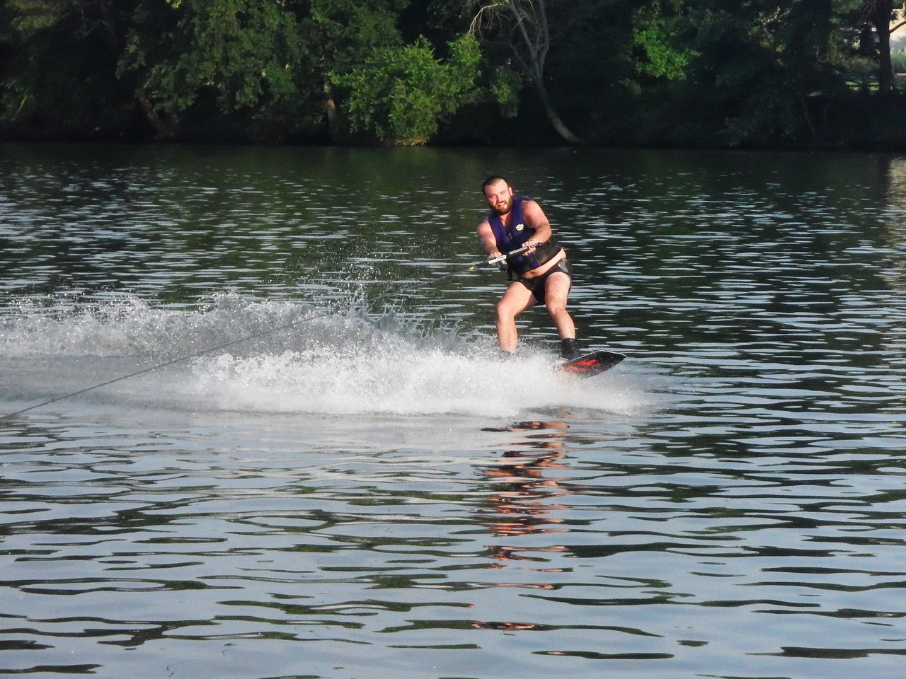 6/17 Eric on the wakeboard