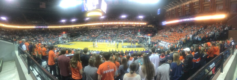 12/6 ECU @ UVA Basketball