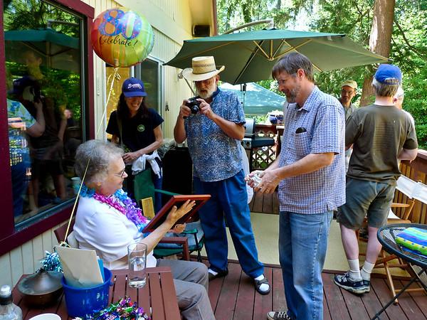 Audrey's 80th Birthday
