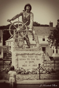 Vintage Fisherman's Memorial