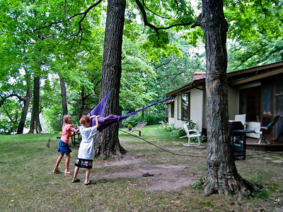 The innovative hammock swing.
