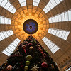Next to the Christmas tree looking up. West Baden Springs, IN.