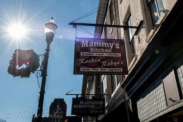 Bardstown, KY. I highly recommend Mammy's Hot Brown for Sunday brunch.