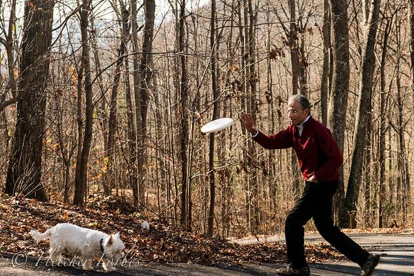 Annual frisbee on Mp's mountain. What a gorgeous November!