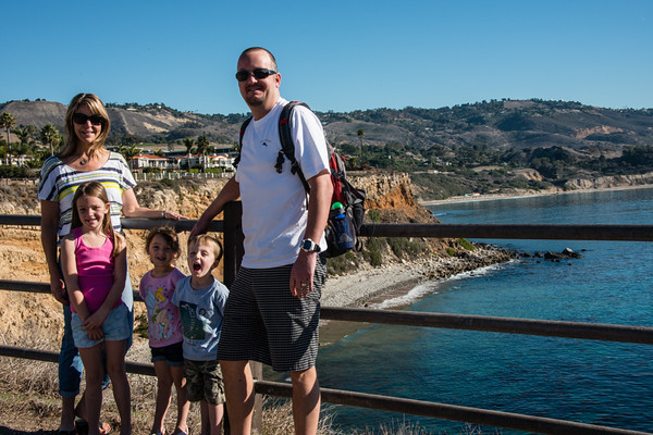 The Tramels, Kim, Josslyn, Cali, Nate and  Jim