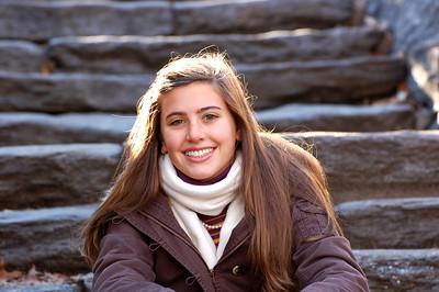 Carlie in Central Park Dec 2006