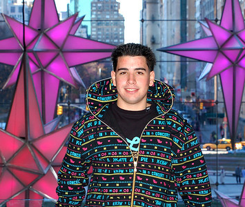 Mark in the Time Warner Building NYC Dec 2006