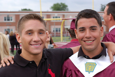 Mark & Kyle TRS graduation June 2007