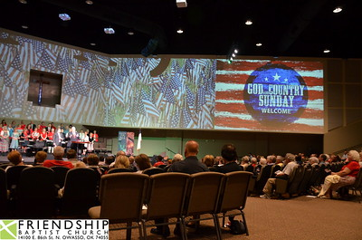 Friendship Baptist God and Country