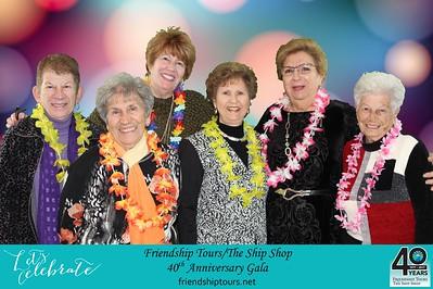 Friendship Tours/The Ship Shop 40th Anniversary Gala