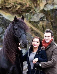 Friesian engagement Feb 2014