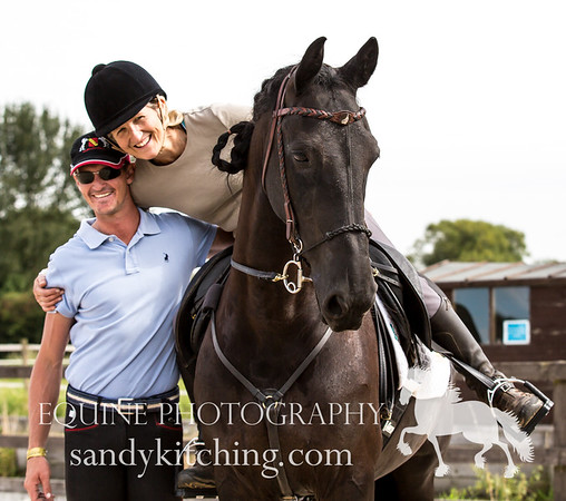 Friesian riding clinics 2016