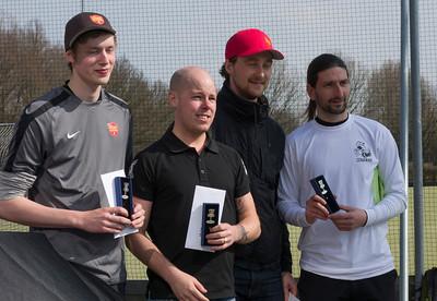 Open division winners: Henrik Johansen (1st), Simon Lizotte (2nd), Sylvain Gouge and Tobias Östling (3rd)
