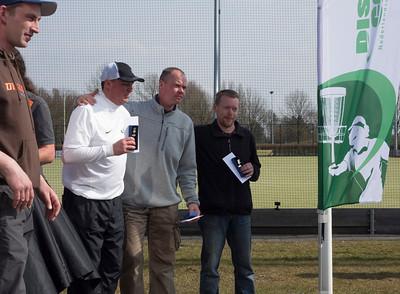 Masters division winners: Jean-Louis Tanghe (1st), Marco Lehousse (2nd), Klaus Kattwinkel (3rd)