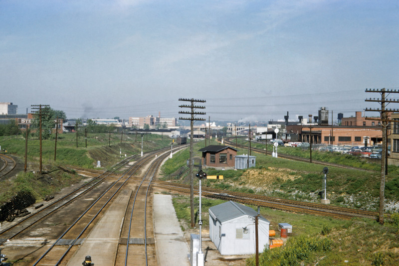 SLSF 106 - May 9 1958 - looking west from Tower Grove St Louis MO