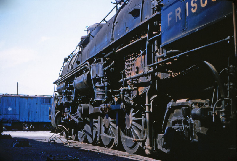 SLSF 42 - Aug 29 1954 - No 1501 4 8 2 at Linderwood MO