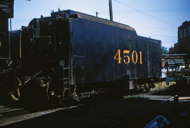 SLSF 32 - Aug 29 1954 - tender of No 4501