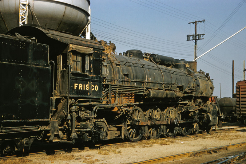 SLSF 98 - Oct 31 1957 - No 1527 4-8-2 at Lindenwood St Louis MO