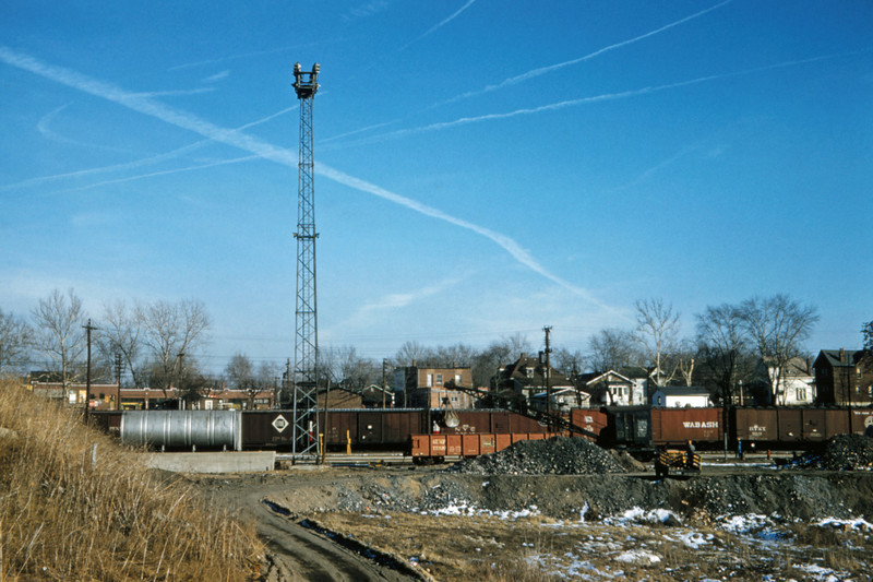 SLSF 105 - Feb 13 1958 - Lindenwood Yards at Fyler Ave - St Louis MO
