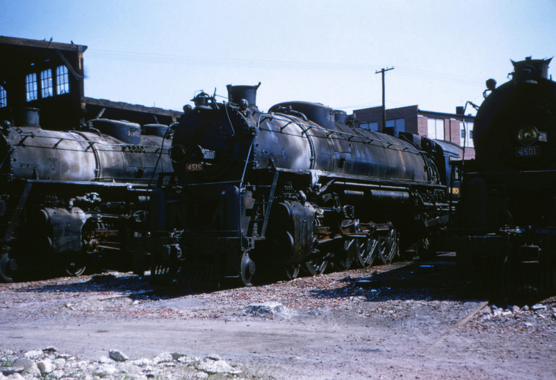 SLSF 38 - Aug 29 1954 - No 4515 4-8-4 Lindenwood - St Louis MO