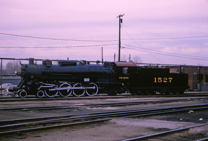 SLSF 119 - Nov 24 1964 - No 1527 4-8-2 Lindenwood St Louis MO
