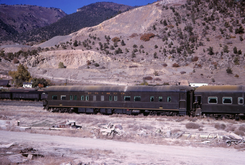 SLSF 127 - Oct 25 1966 - Bus Car 5 - Glenwood Springs COLO