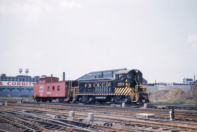SLSF 116 - Sep 4 1960 - no 253 caboose 70 Grand Ave  St Louis MO
