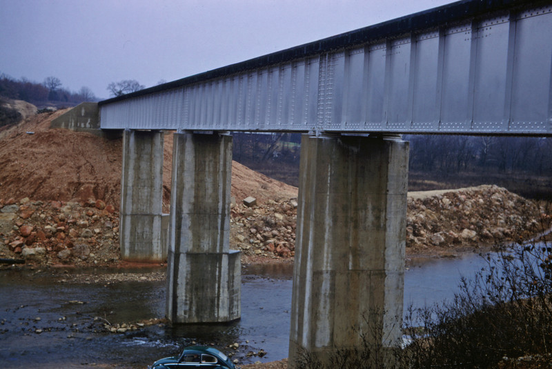 SLSF 136 - Nov 20 1967 - Huzzah Creek Bridge Lead Line MO
