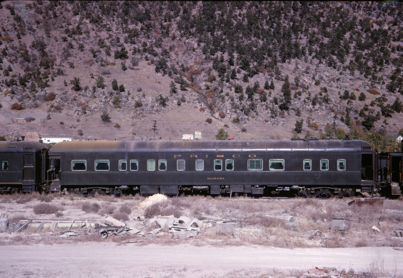 SLSF 126 - Oct 25 1966 - Bus Car Alabama - Glenwood Springs COLO
