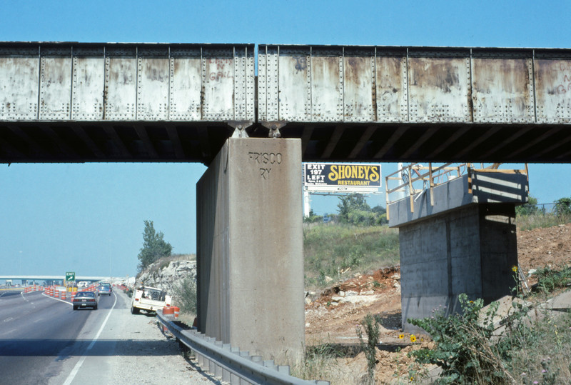 SLSF 149 - Aug 25 1994 - overpass on US 66 S of St Louis MO