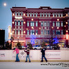 Ice Skating Rink in Frisco Square