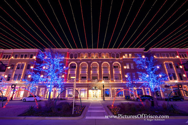 Frisco Square Christmas Lignts