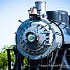 Old train engine in Downtown, Frisco
