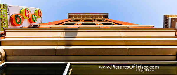 """""""Looking Up"""" in Frisco Square"""