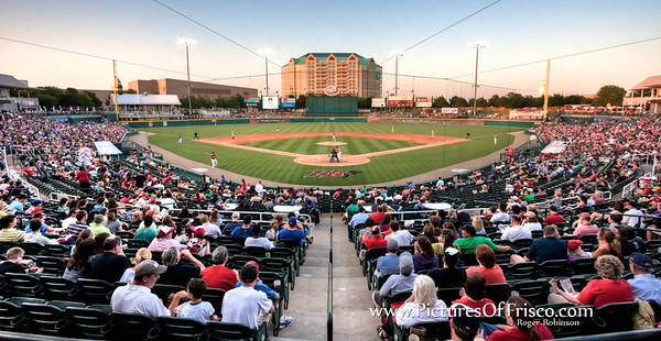 Dr Pepper Ball Park, home of the AA Frisco Roughriders