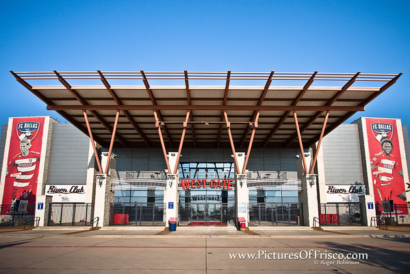 The West Gate at FC Dallas Stadium