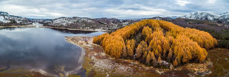Myrdalsvannet Panorama