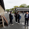 Nijō Castle outer courtyard