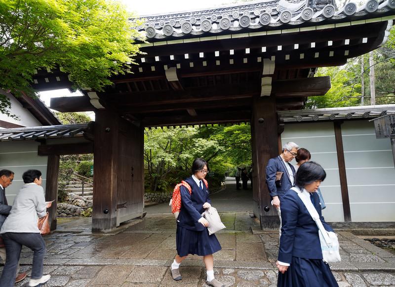 Ryōan-ji entrance