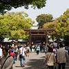 Meiji Shrine and another torii