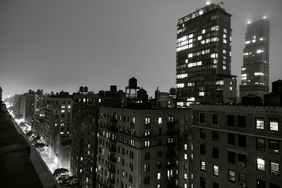 Uptown View _ bw