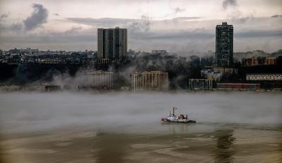 Foggy Hudson