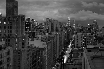 West End Avenue _ bw