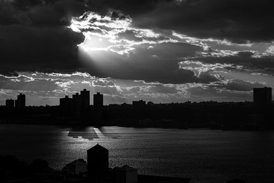 Late Afternoon Light _ bw