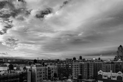 Clearing Skies _bw