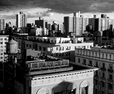 Rooftops Afternoon _ bw
