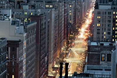 West  End Avenue @ Night