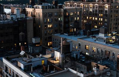 Rooftop Dusk