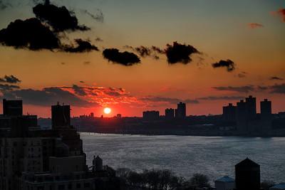 Hudson River Sundown